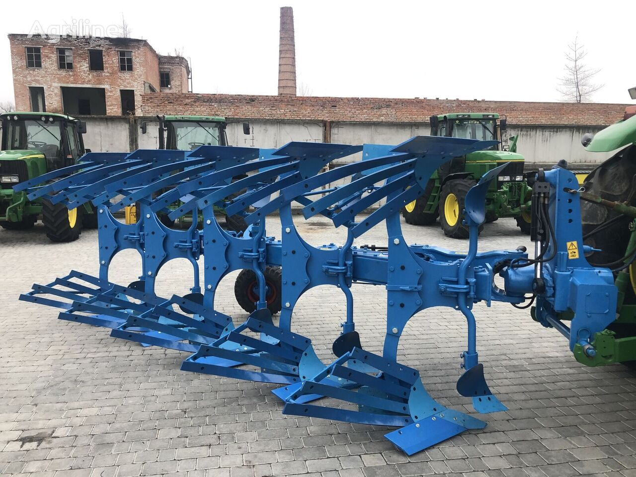 LEMKEN VariOpal reversible plough