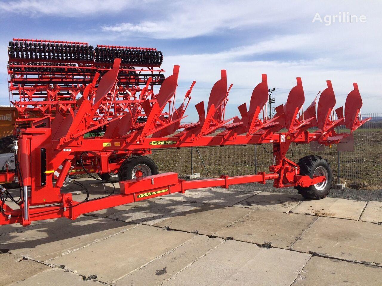 new OPaLL-AGRI Orion 180 8+1 reversible plough