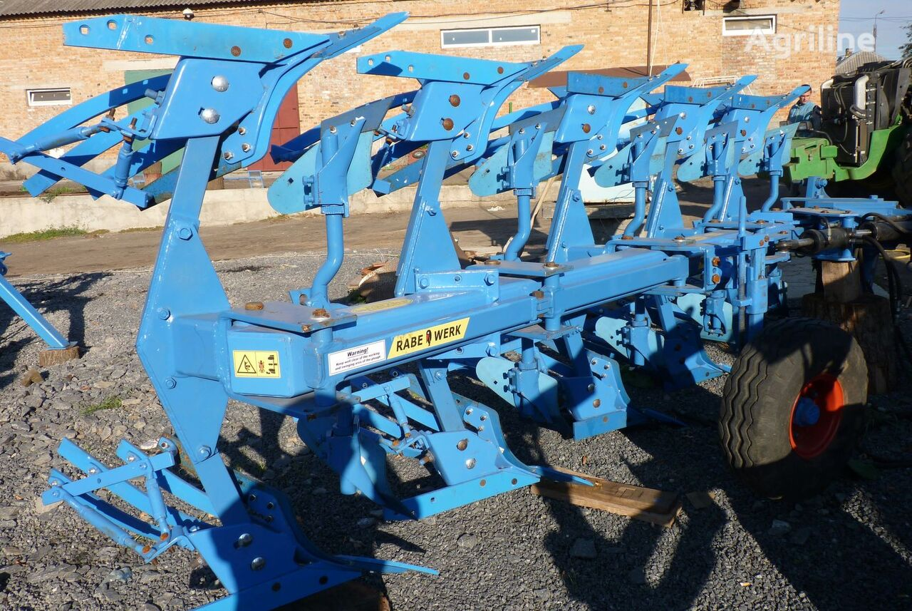 RABE Avant 4+1 reversible plough