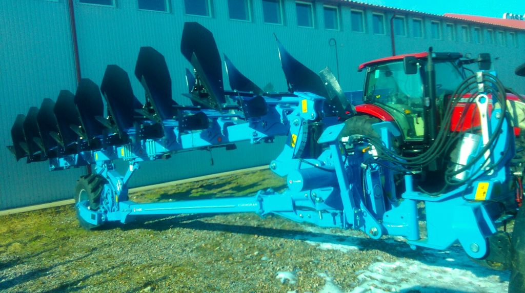 new RABE Kormoran PF 180 reversible plough