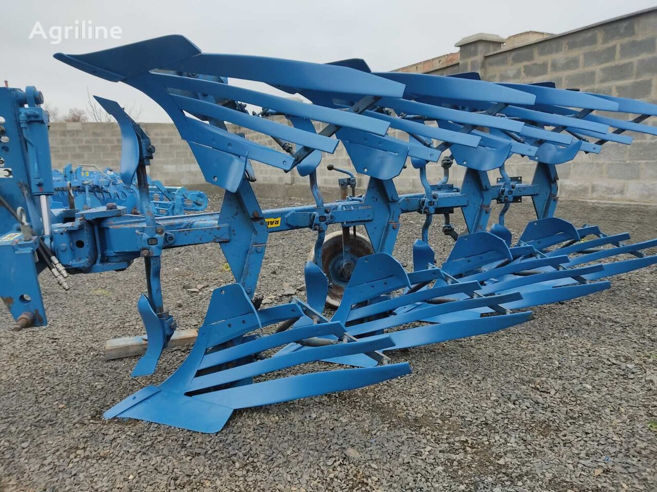 RABE Star reversible plough