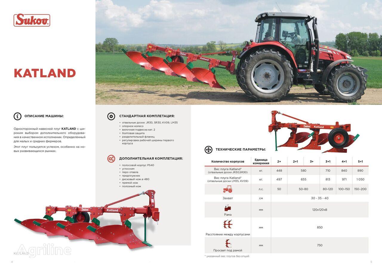 new SUKOV  Katland reversible plough