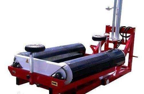 new MARKO-POLO Rulonų vyniotuvas, feed mixer / dispenser round bale wrapper