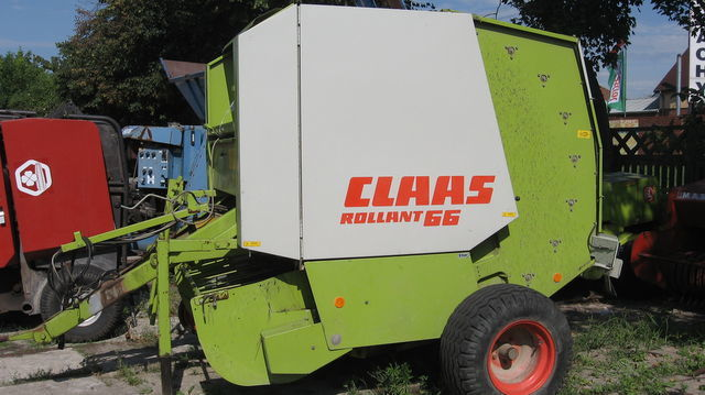 CLAAS ROLLANT 66,62.44.46 round baler