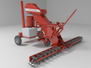 new ROSTSELMASH seed treater