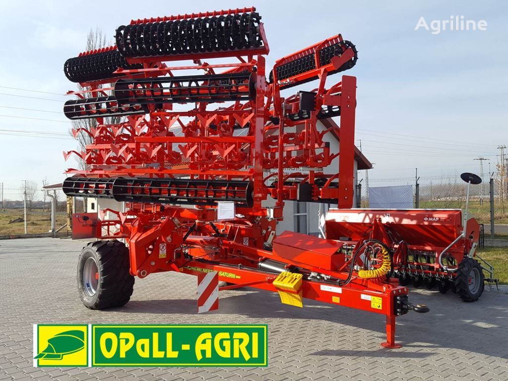 new OPaLL-AGRI Saturn 8 m seedbed cultivator