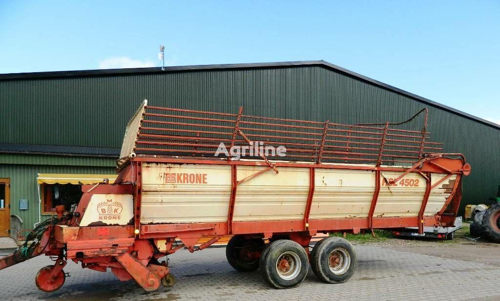 KRONE HSL-4502 self-loading wagon