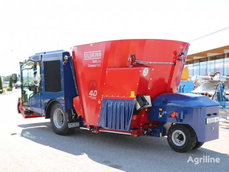 new SILOKING SelfLine 4.0 Compact 1612 - 13 self propelled feed mixer