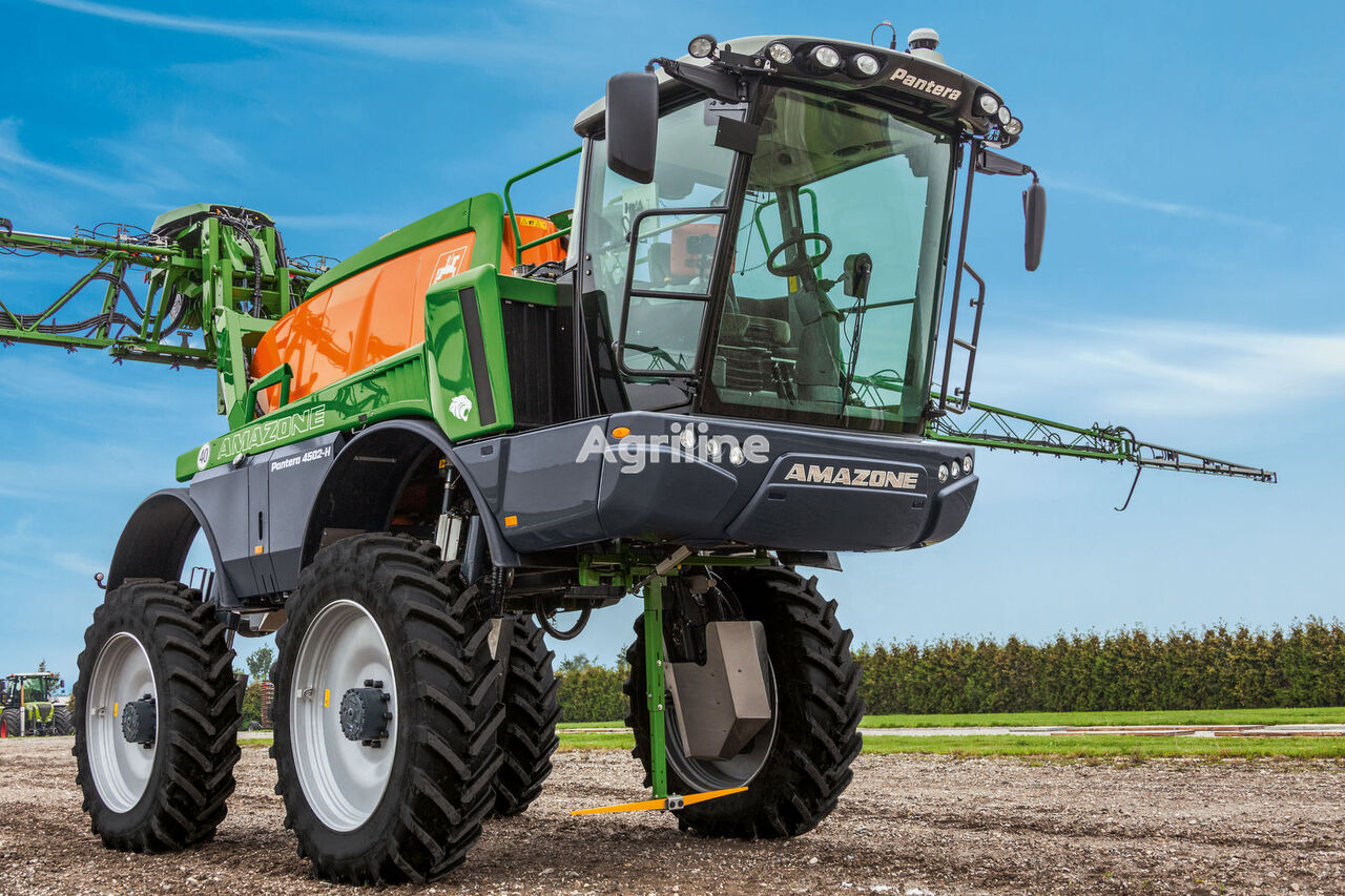 new AMAZONE Pantera 4502 self-propelled sprayer