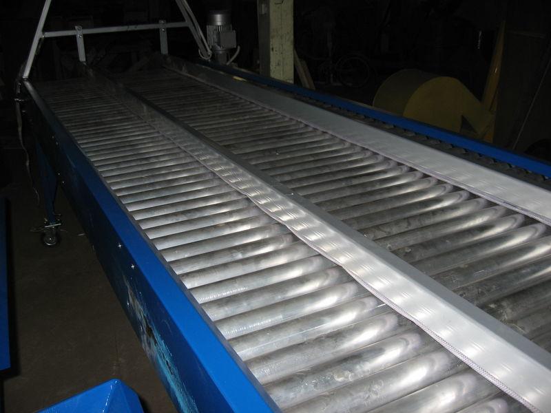 new inspekcionnyy rolikovyy stol - 2,5 m sorting machine