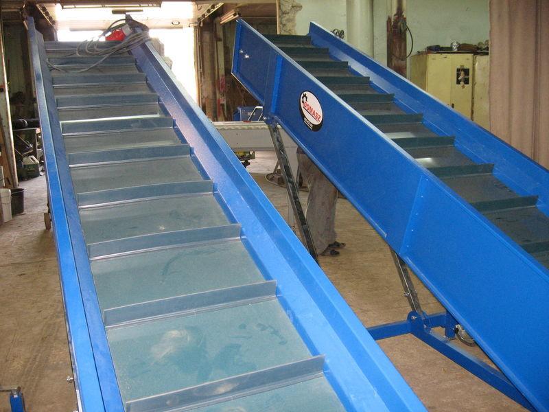 transporter (konveyer) sorting machine