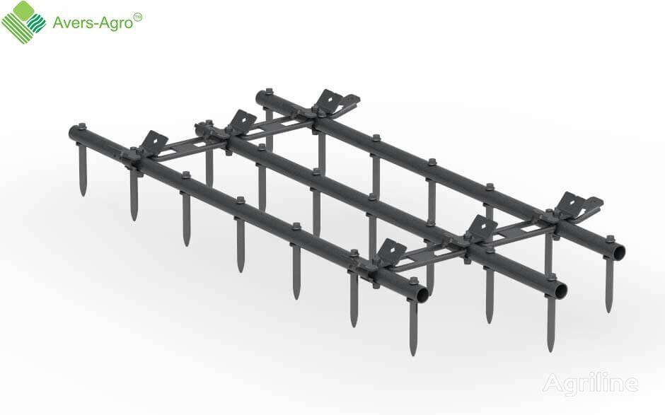 new Avers-Agro Grebenka shleyfovaya 3 sekcii shirina 1,5m spike tooth harrow