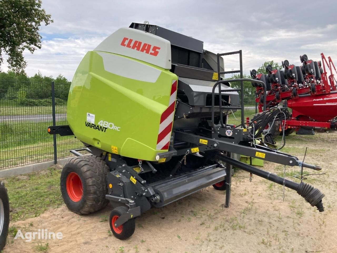 CLAAS variant 480 rc pro square baler