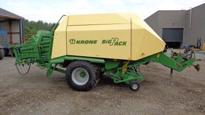 KRONE Big Pack 127 VFS square baler