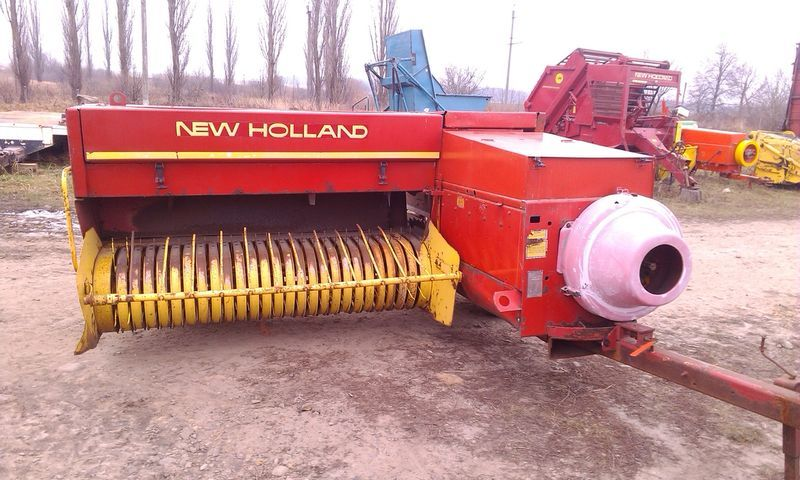 NEW HOLLAND 378,276,270,945 square baler