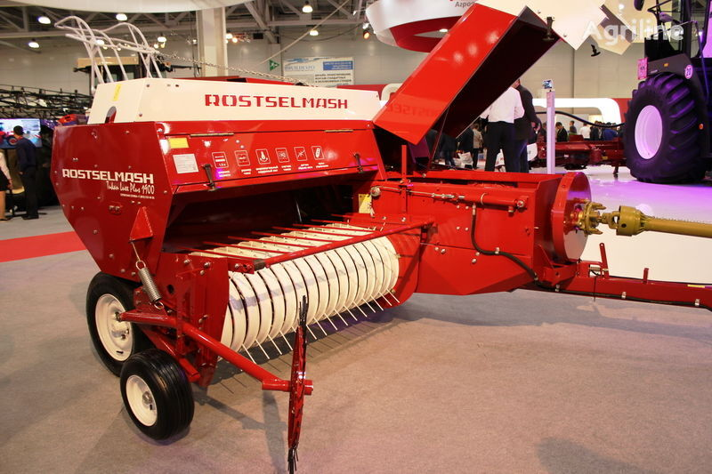 new ROSTSELMASH Tukan Luxe Plus square baler