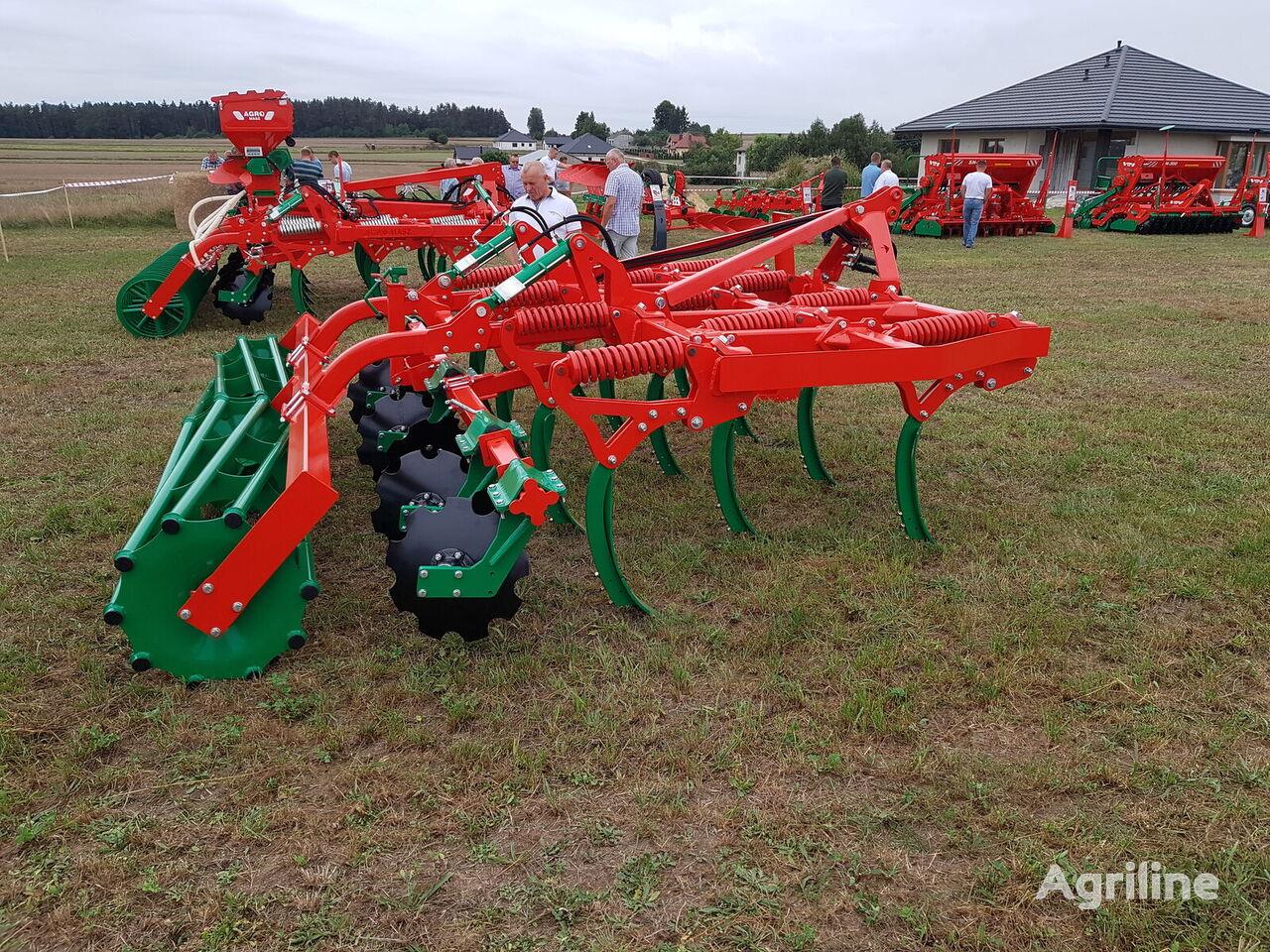 new AGRO-MASZ RUNNER GLIBINA DO 25 SM stubble cultivator