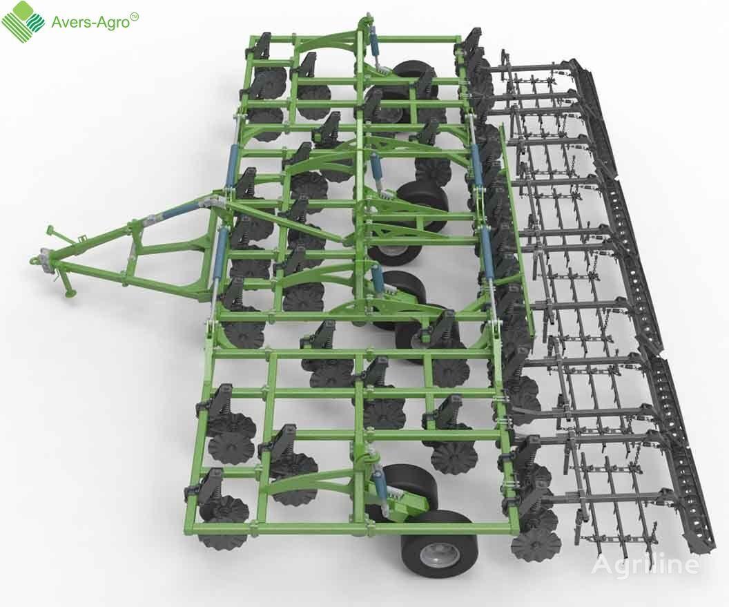 new Avers-Agro Verti-till Green Wave 18,2 m. Gos.kompensaciya stubble cultivator