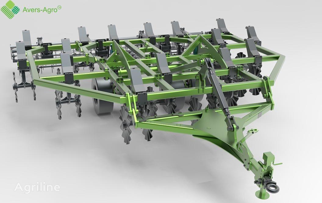 new Avers-Agro Verti-till turbokultivator Green Wave 5,2 m.  stubble cultivator