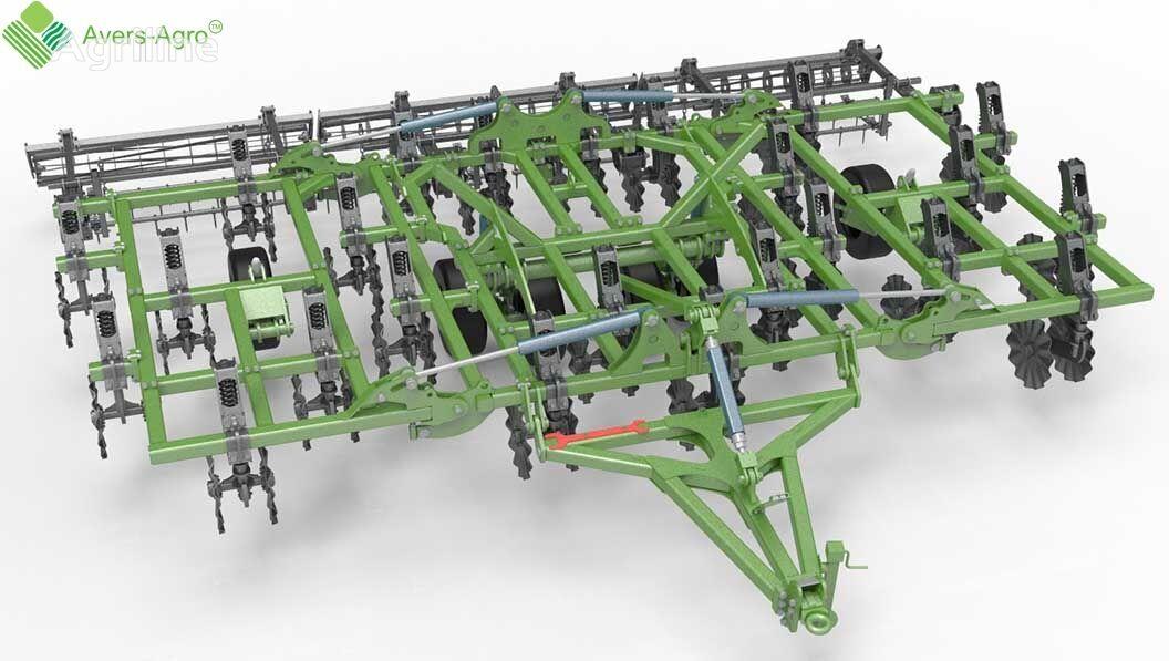 new Avers-Agro Verti-till turbokultivator Green Wave 7,8 m. Gos.kompensaciya do stubble cultivator