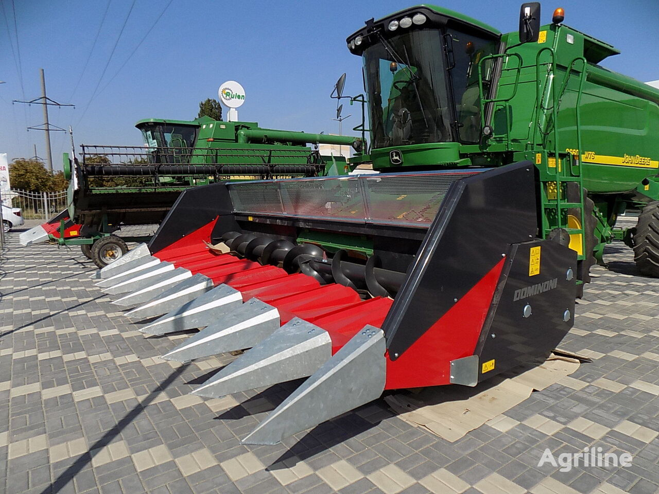 new Dominoni TOPSUN GT908 CLAAS JOHN DEERE sunflower header