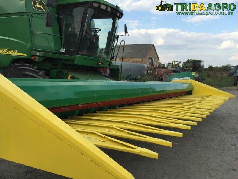 TriDaAgro ZhS 12-70  soevaya pristavka sunflower header
