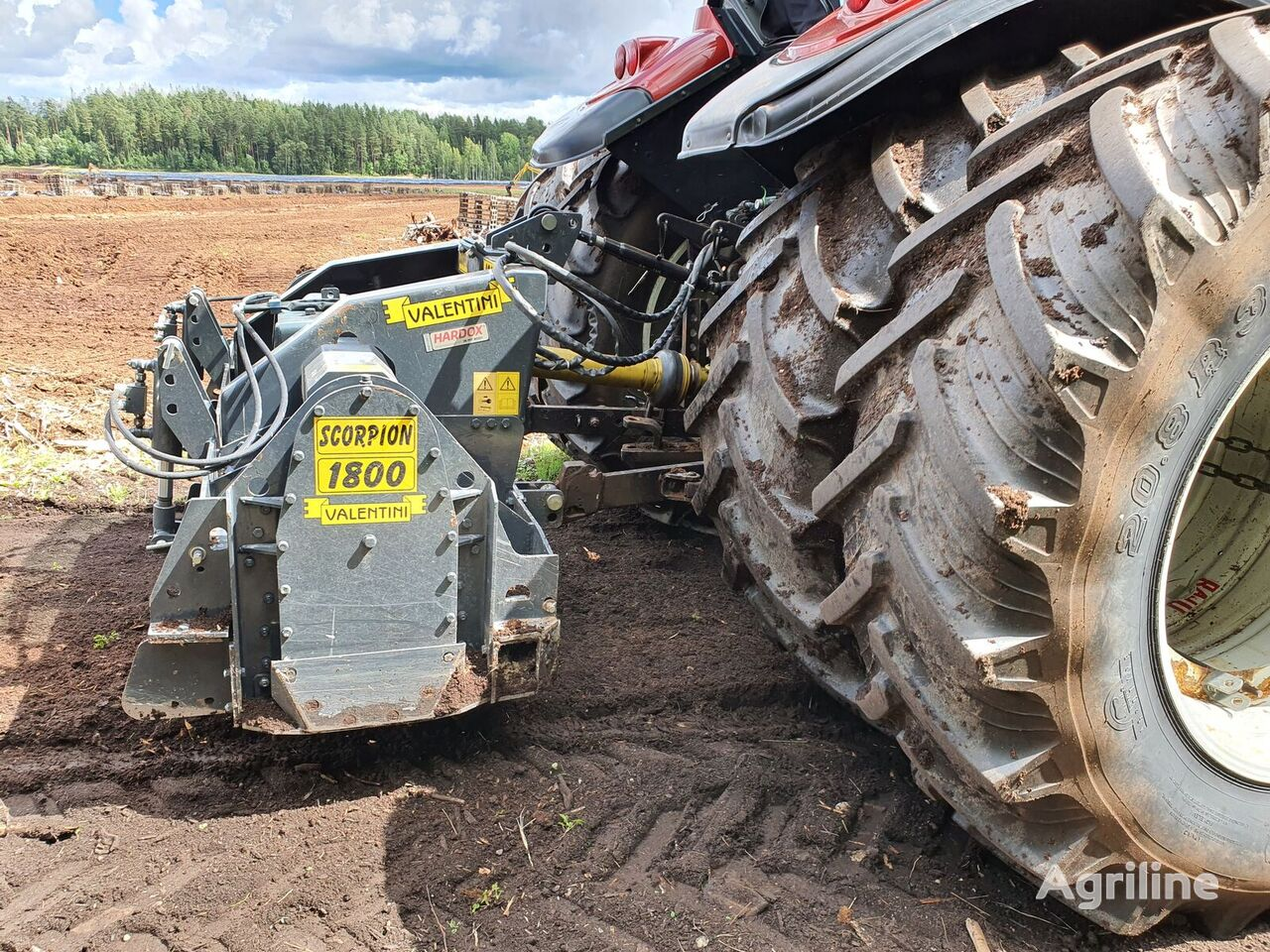 new VALENTINI NAVAJO 1800 tractor mulcher