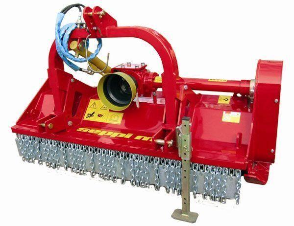 new SEPPI M MINIFORST tractor mulcher