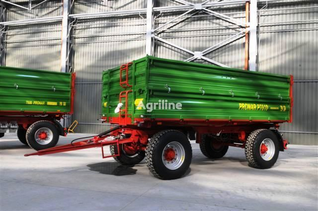 new PRONAR PT610 paletowa 10 t / 13,2 m³  tractor trailer