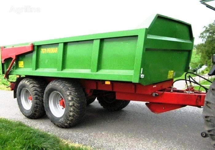 new PRONAR T679 12 t / 15,8 m³  tractor trailer
