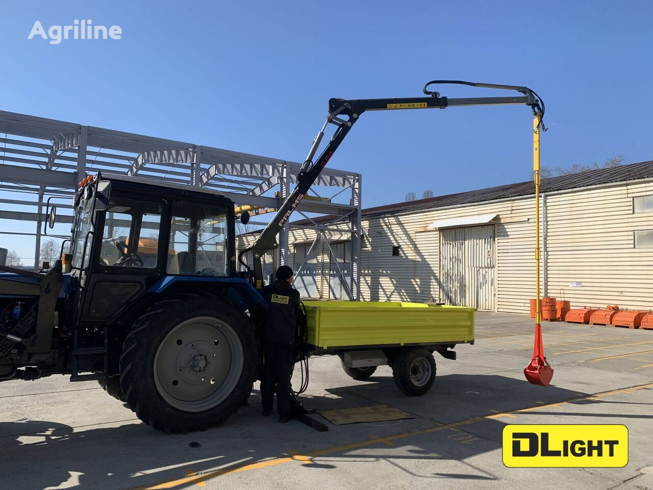 new DLight DL CityMaster tractor trailer