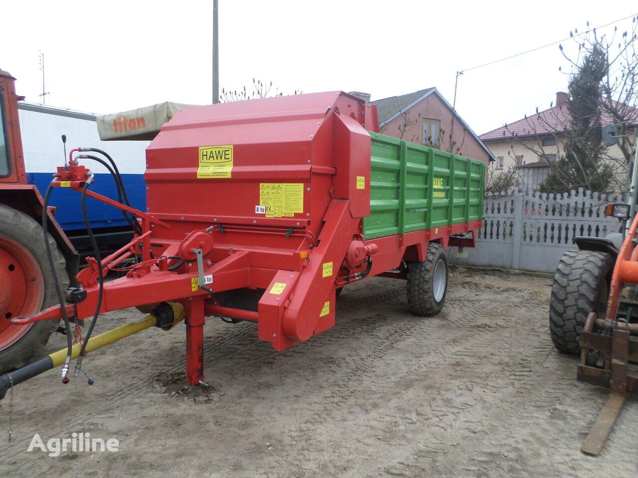HAWE FDSTA 10 tractor trailer