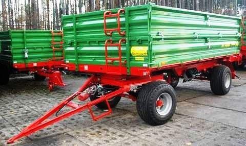 new PRONAR Przyczepa dwuosiowa  T672 8 t  tractor trailer