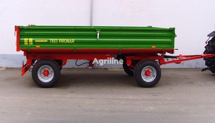 new PRONAR T 653 tractor trailer