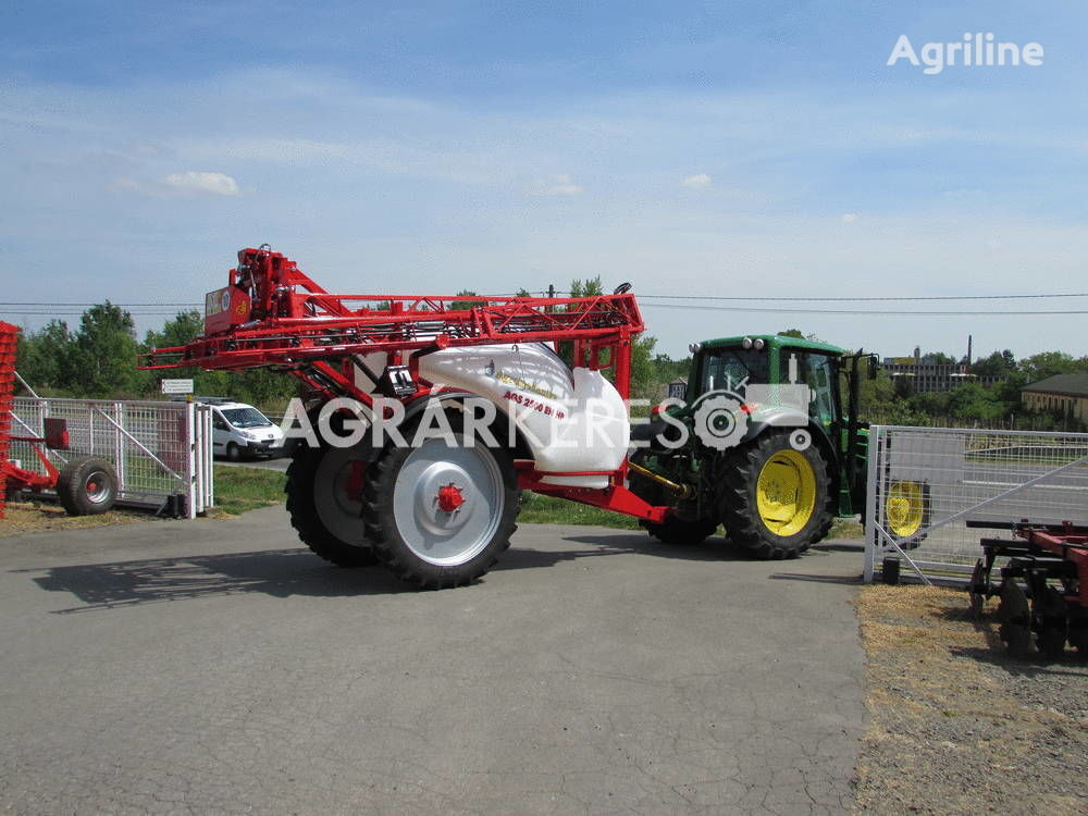new AGS-3000 EN/HP trailed sprayer