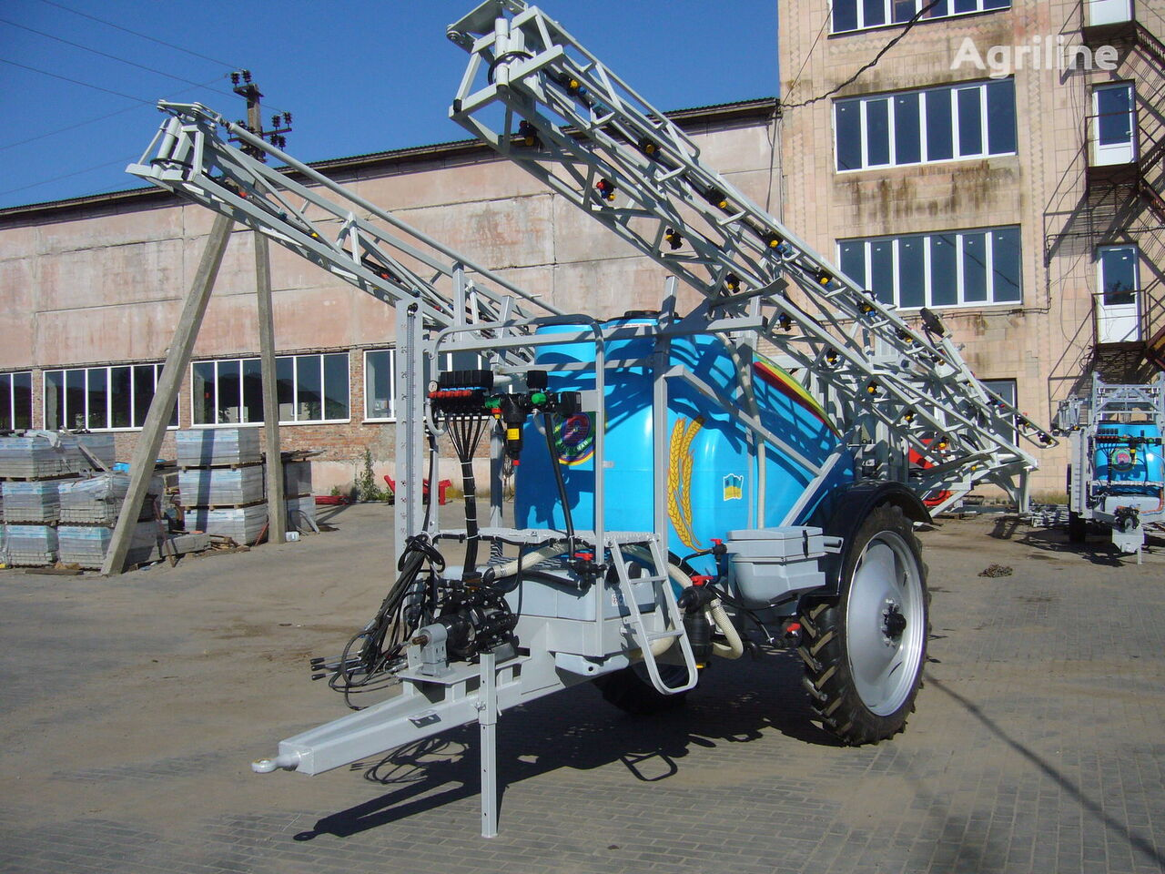 new MAKSUS 3000 trailed sprayer