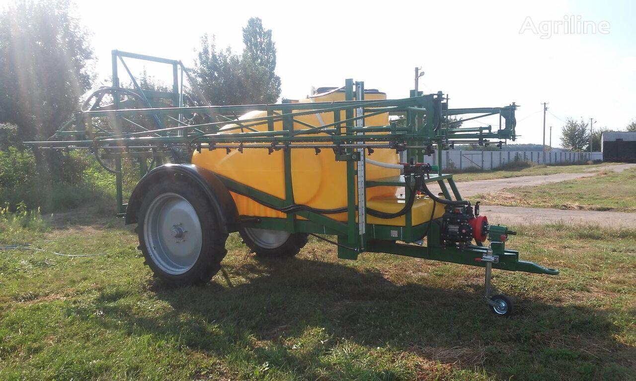 new Vektor-2000/18 trailed sprayer