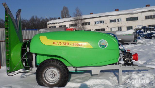 new Vezuviy 2000M trailed sprayer