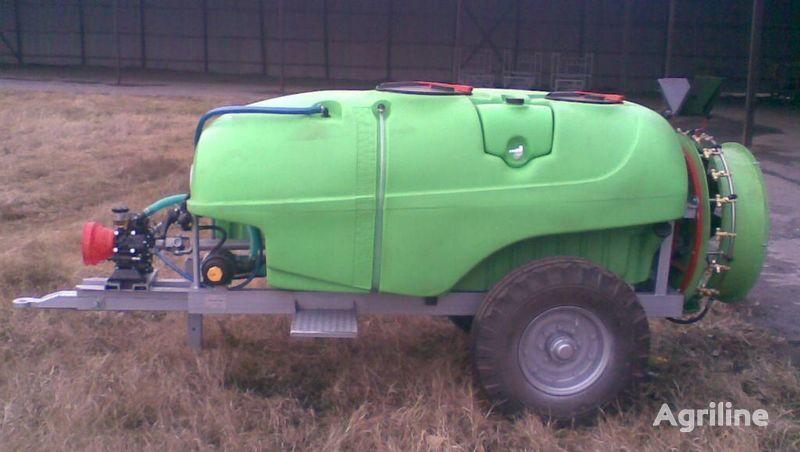 new Vezuviy-2000V trailed sprayer