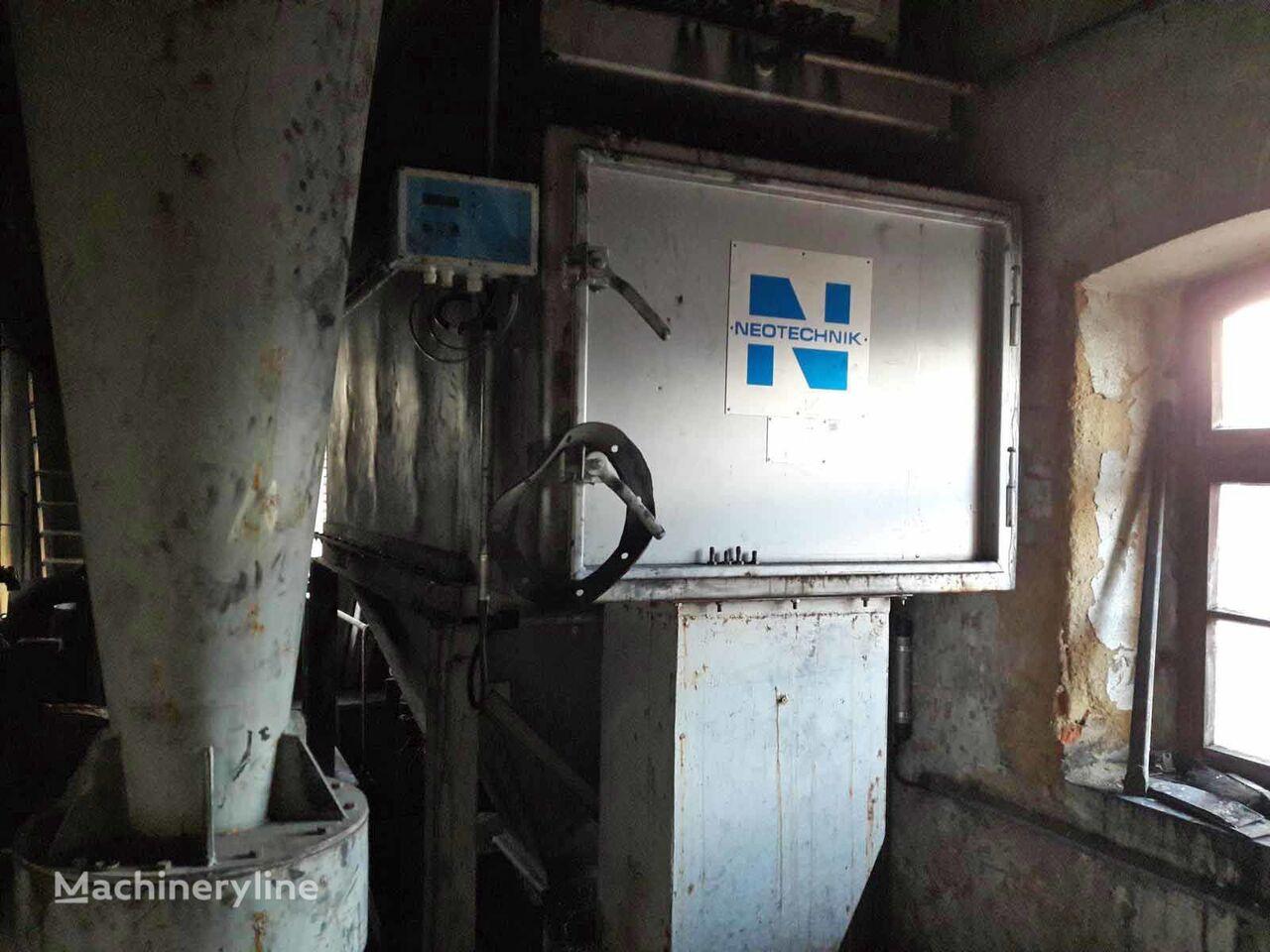 Neotechnik Dedusting/Entstaubung ventilation equipment