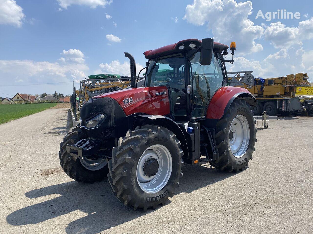 damaged CASE IH MAXXUM 135 MultiController  wheel tractor