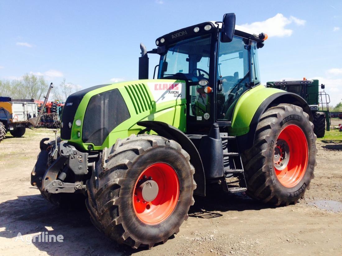 CLAAS AXION 840 CIS wheel tractor