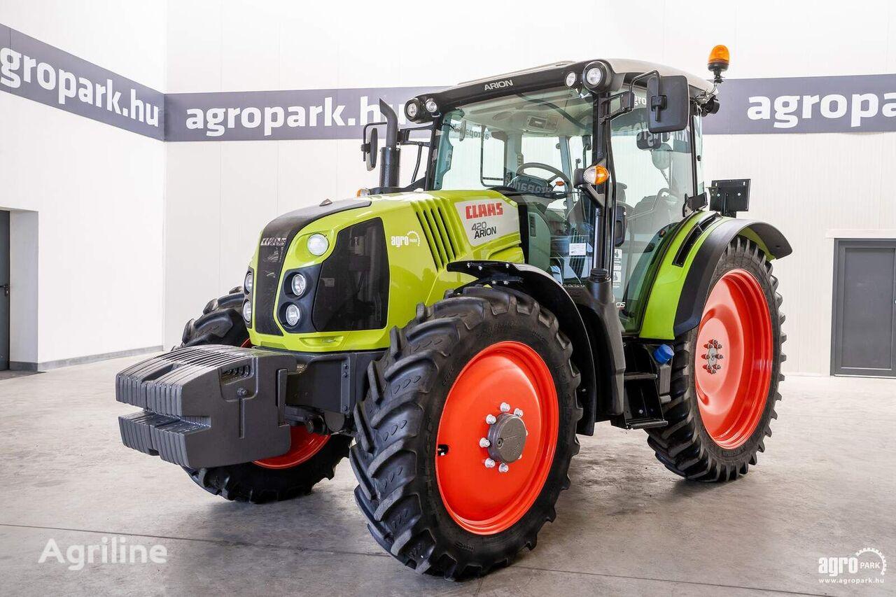 CLAAS Arion 420 CIS (2047 hours) Quadrishift 16/16 40 km/h, axle suspe wheel tractor