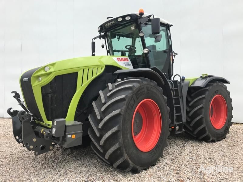 CLAAS XERION 4500 TRAC VC wheel tractor