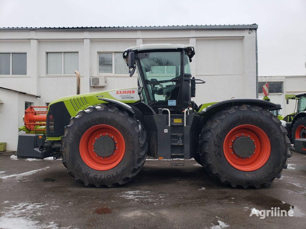 new CLAAS Xerion 4000 wheel tractor