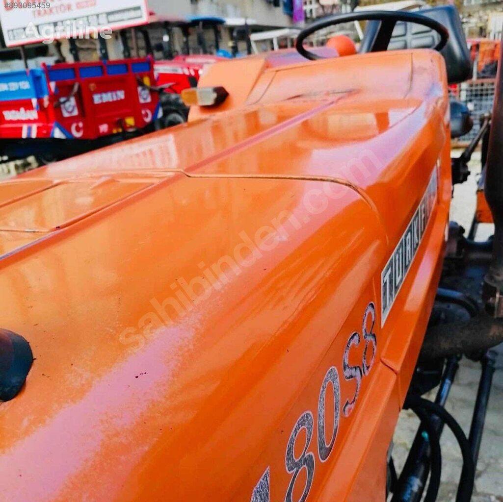 FIAT TÜRKİYE DE TEK KALIN KOVAN TAPALI AVRUPA FİAT 480 S 8 wheel tractor