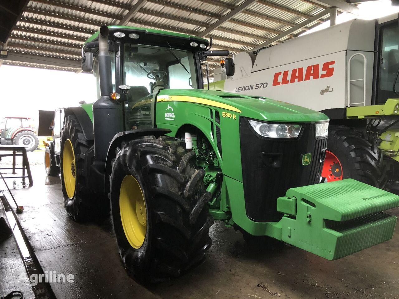 JOHN DEERE 8310 R wheel tractor