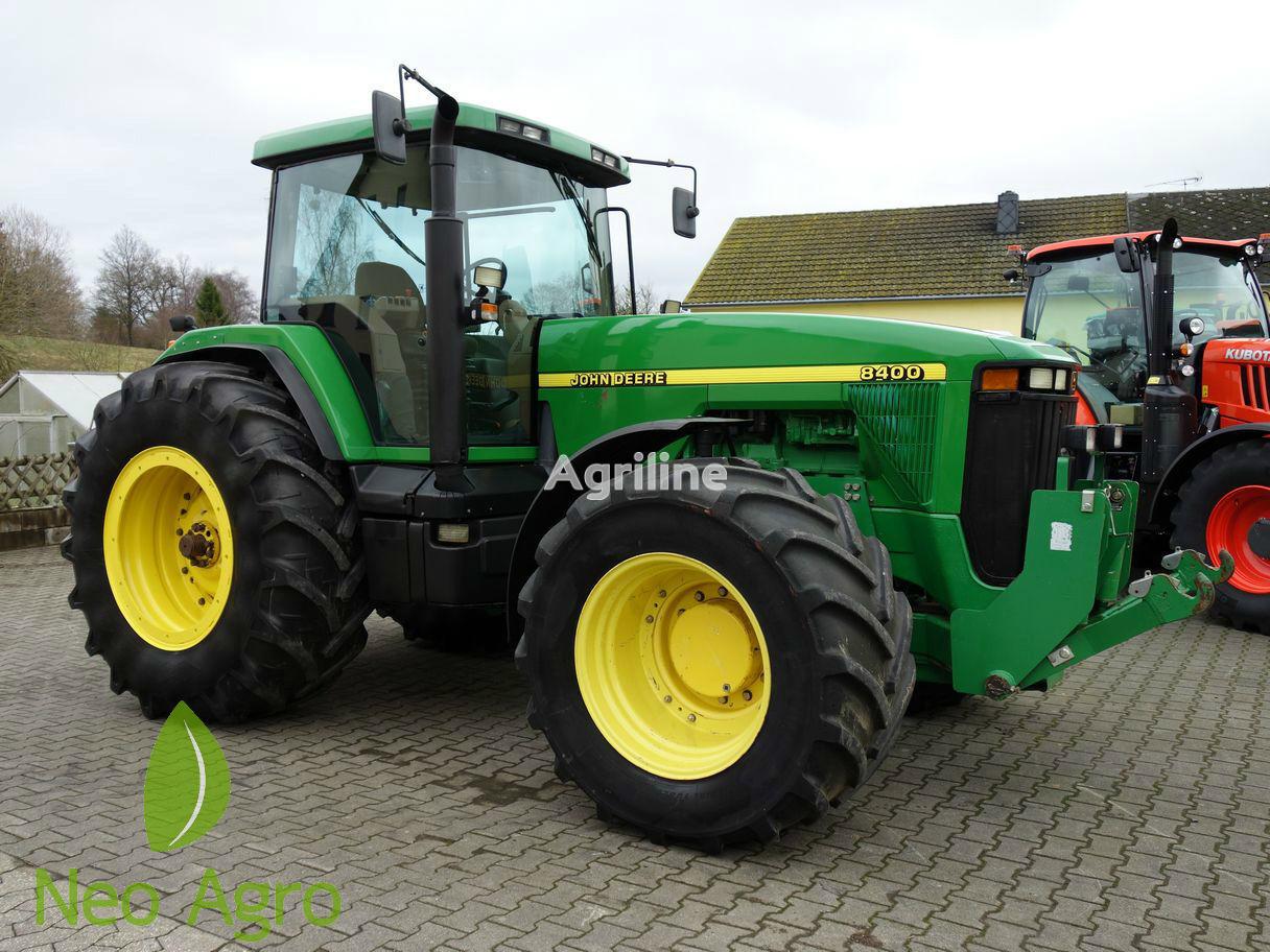 JOHN DEERE 8400 (z Evropi) wheel tractor