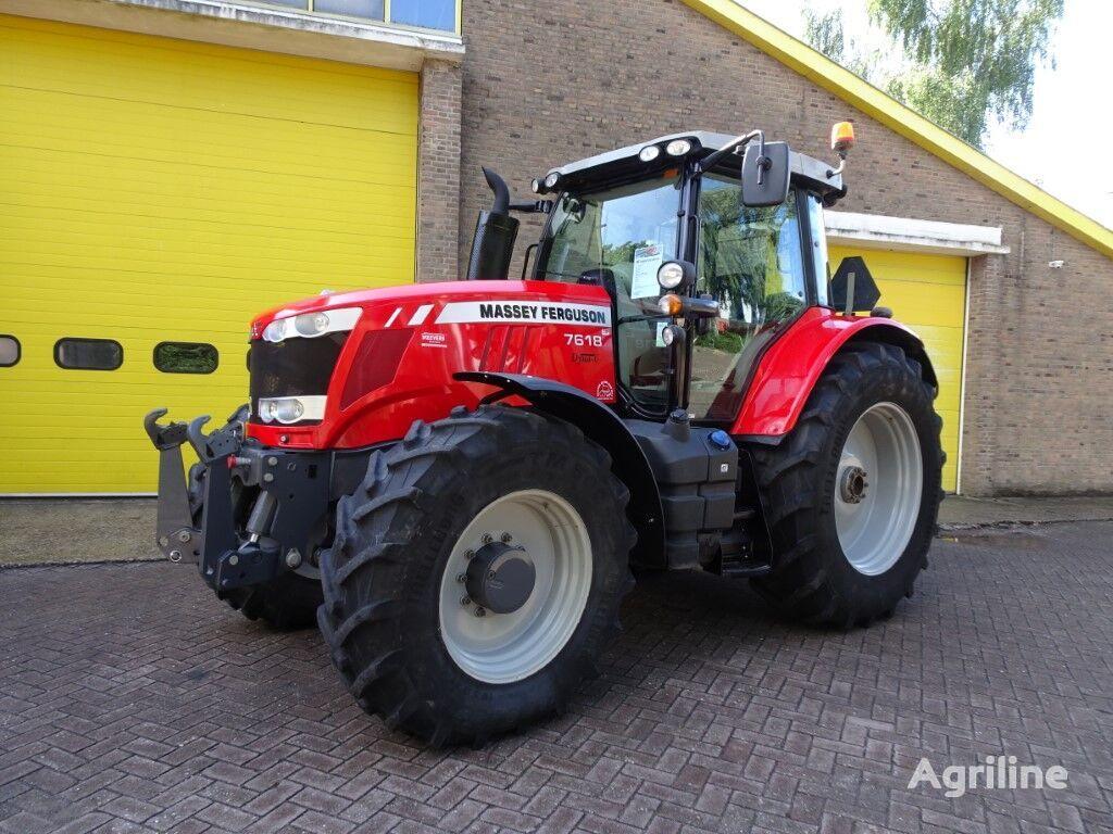 MASSEY FERGUSON 7618 EFF Dyna-6 + Kruip wheel tractor
