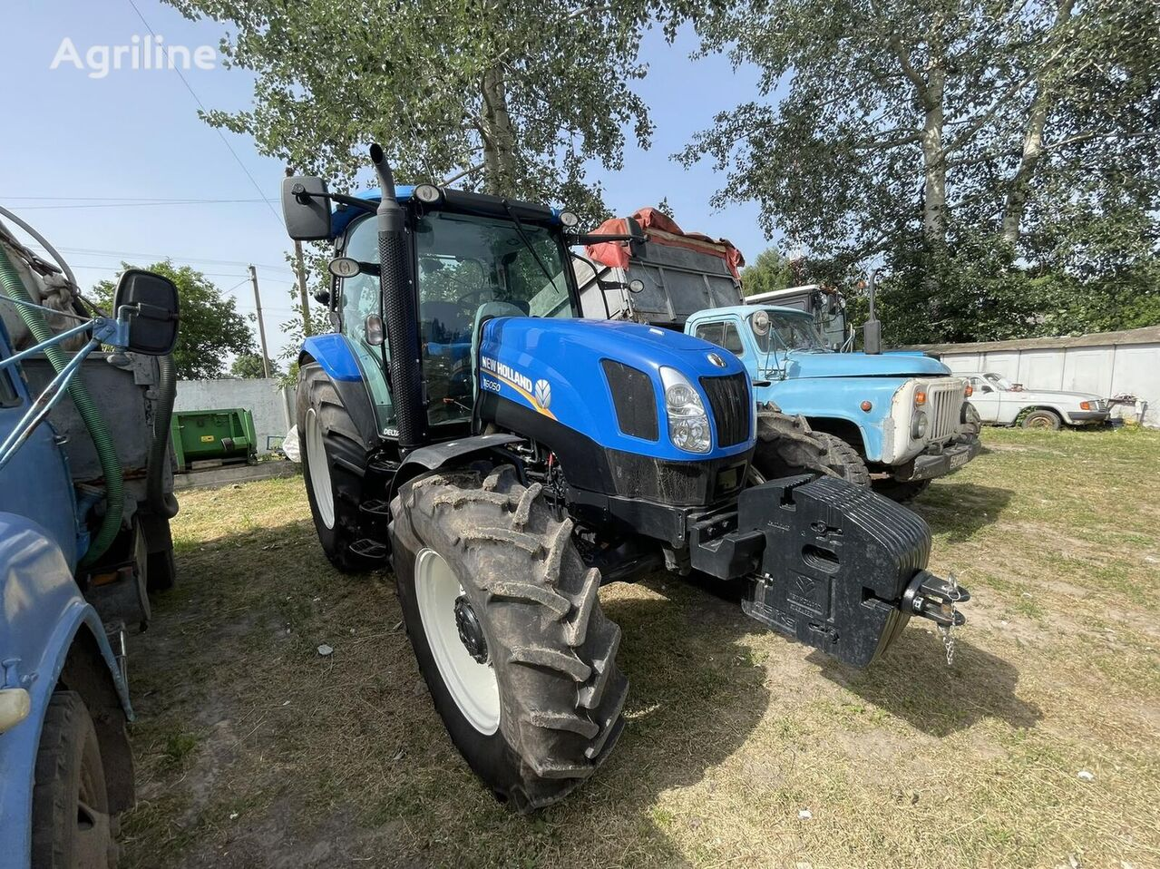 NEW HOLLAND T6050 v Lizing wheel tractor